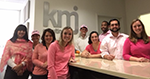 KMJ wears pink to support Breast Cancer Awareness Month